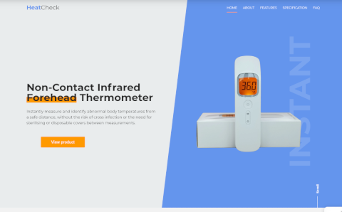 Web Design - HeatCheck